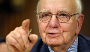 Volcker: The Central Problem Is….