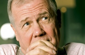 """Stocks Will Go Down, Commodities Will Go Up"" Jim Rogers"