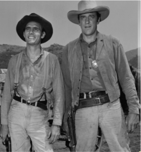 """Matt Dillion and his deputy, Chester, were long time fixtures on """"Gunsmoke"""" during the glory years of the TV Western!"""