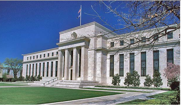This is the U.S. Federal Reserve Bank Building in Washington, DC