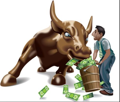 Here is an interesting image of the Bull Market since 2009.