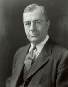 """This is Benjamin Strong, who as President of the New York Federal Reserve Bank initiated the very first """"Open Market Operations""""!"""