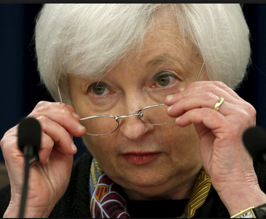 Current Federal Reserve Chair: Janet Yellen
