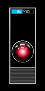 """Here is what we saw of the HAL 9000 computer as we watched """"2001: A Space Odyssey""""."""