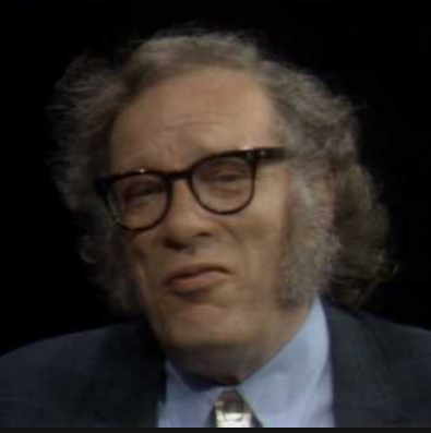 Famed Science Fiction Author, Isaac Asimov.